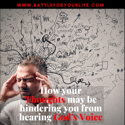 Thoughts hindering God's voice