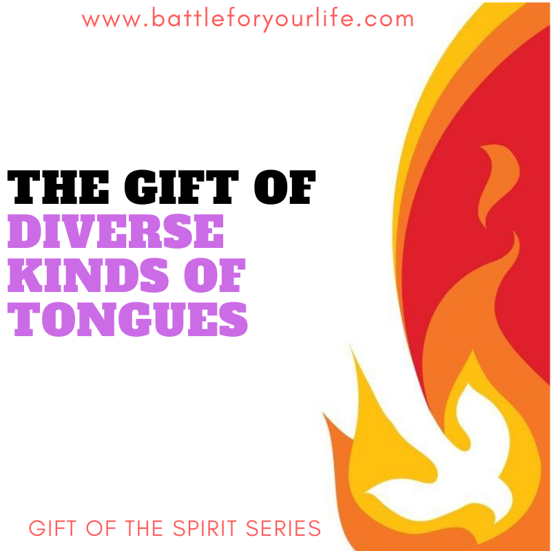 Gift of the Diverse Kinds of Tongues